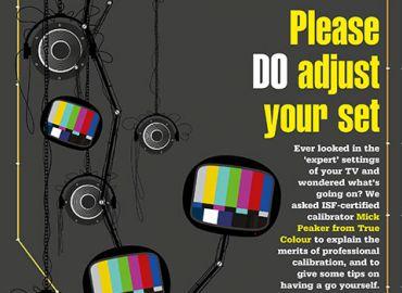 Please do adjust your set